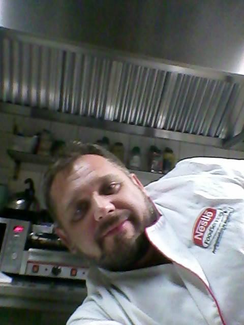 marcin w kuchni